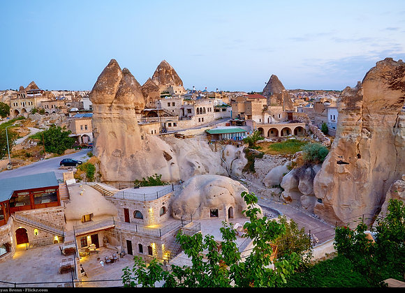 1 night and 2 days Cappadocia tour by bus