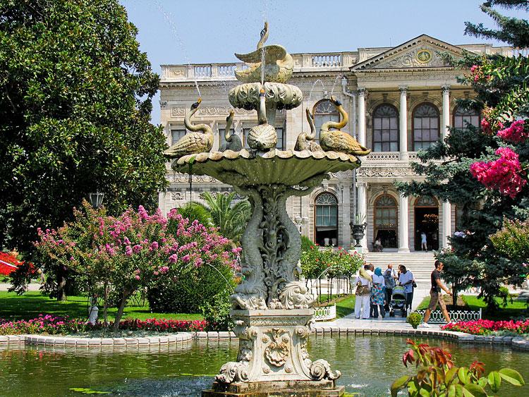 дворцы Стамбула HomaTurkey