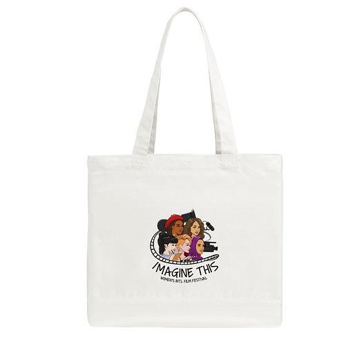 Imagine This Women's Film Fest Official Tote Bag