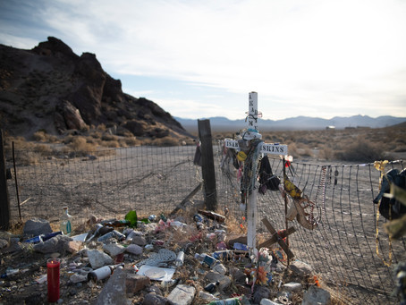 The Lonely Grave Under the Tumble Weeds