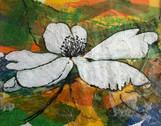 White Flower - collage