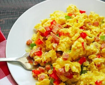 Ham and Vegetable Scramble (case 6)