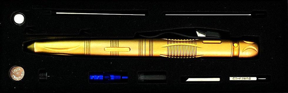 """""""Commander Top Secret"""" Aluminum Tactical Pen (Case 12)"""