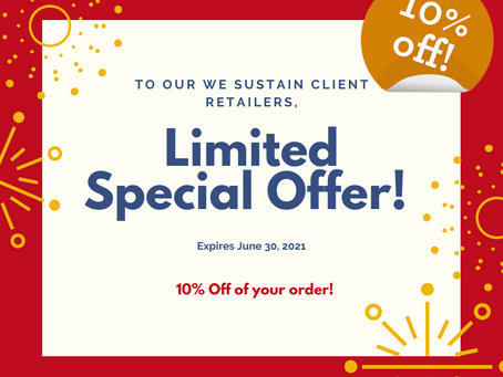 LIMITED SPECIAL OFFERS!