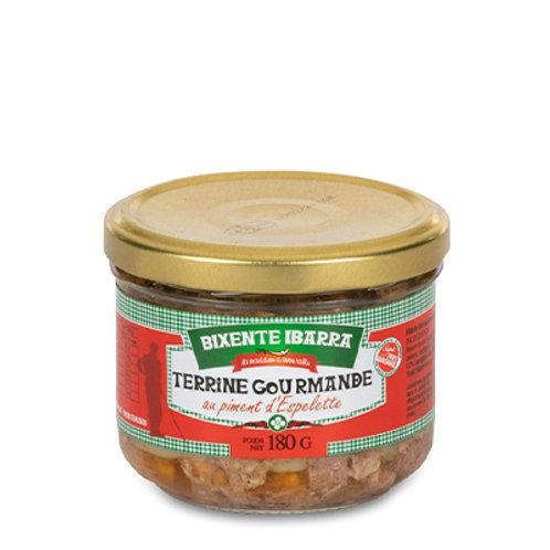 Terrine gourmande au piment d'Espelette