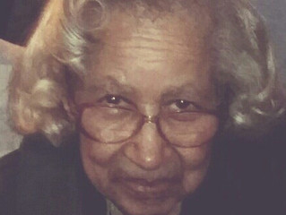 Funeral Announcement of Ida M. Hall (Age 96)