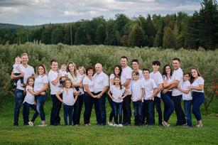 Famille Gaudreau complet