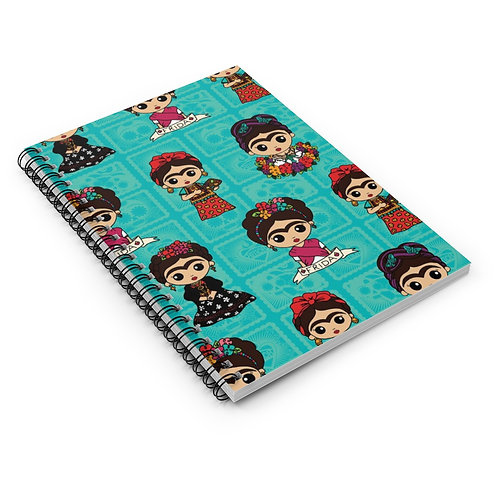 La Artista Spiral Notebook - Ruled Line