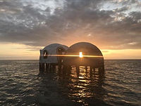 Dome Homes Sunset