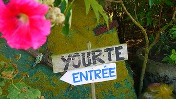 Yourte à la Ferme