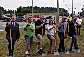 8-15-18 Mary's Diner Groundbreaking Cere