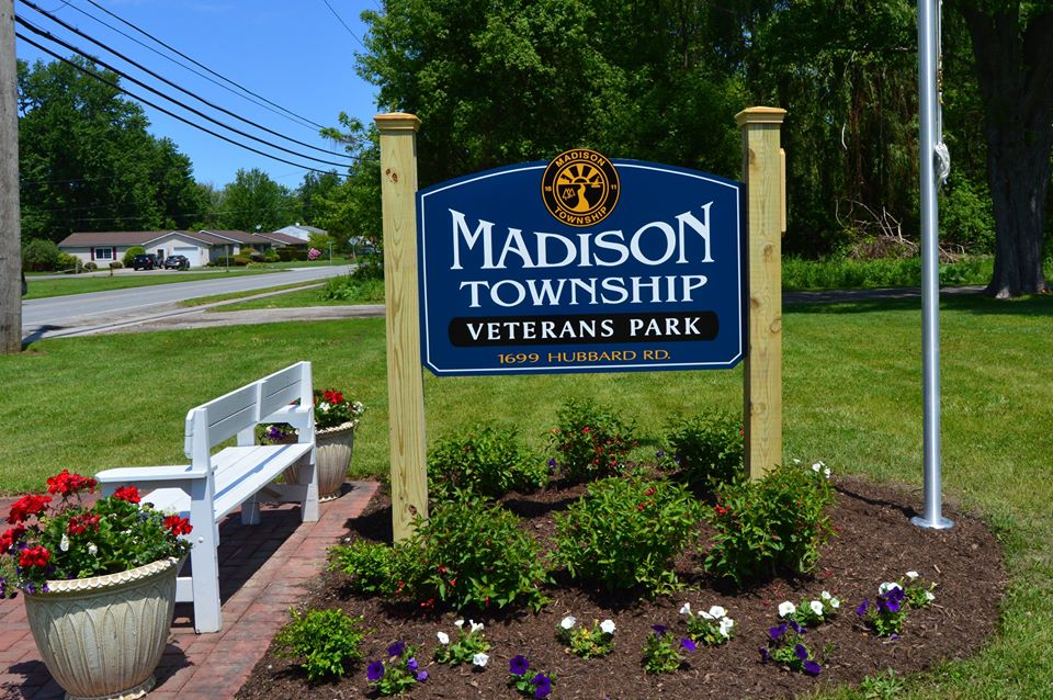 Veterans Park Sign 1a