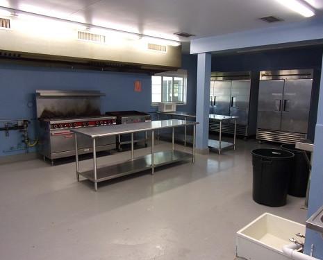 Commerical grade kitchen