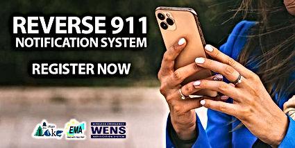 Reverse 911 Notification System - Regist