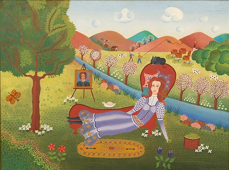 Gisela Fabian ''Lady On A Divan''