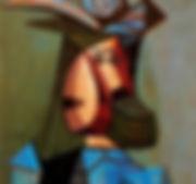Пабло Пикассо ''Портрет женщины''