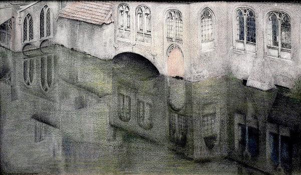 Fernand Khnopff ''Secret - Reflet''