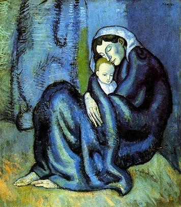 Пикассо ''Мать и дитя''