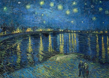Vincent van Gogh ''La Nuit étoilée''