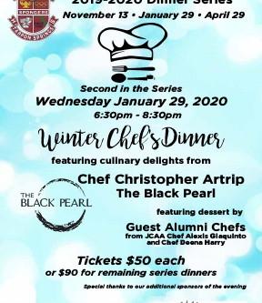 JCAA Winter Chefs Dinner