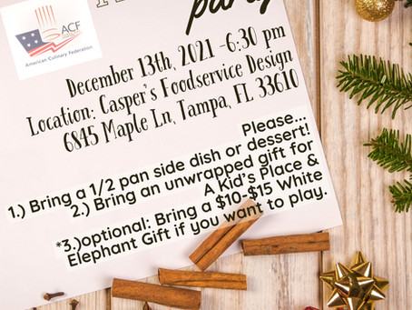 December - Holiday Party