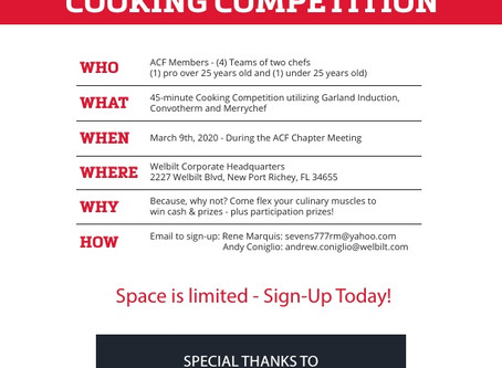 Cooking Competition!!!
