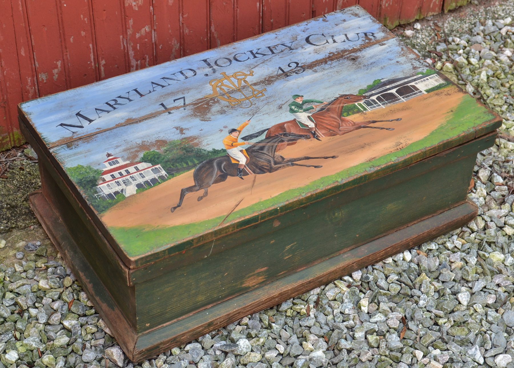 Maryland Jockey Club Box