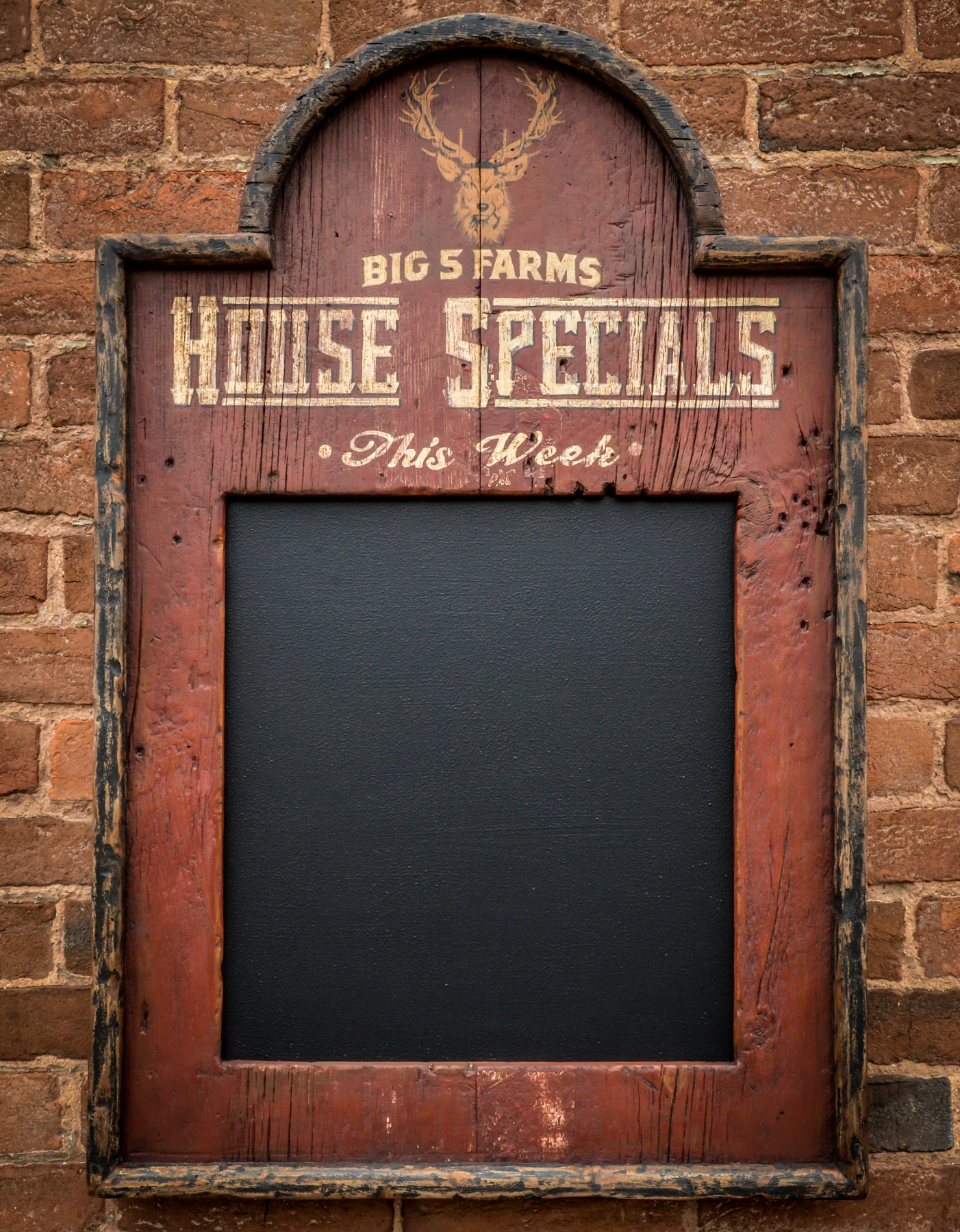 Big Five Farm House Specials