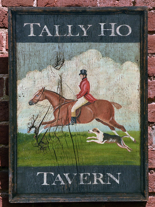 Tally Ho Tavern Sign Reproduction