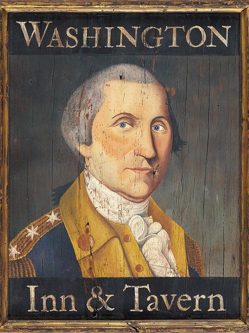 Washington Inn & Tavern Sign