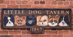 Custom Dog Portrait Tavern Sign