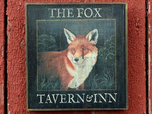 The Fox Tavern & Inn Sign Reproduction