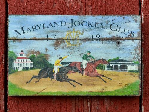 Maryland Jockey Club Reproduction - Medium