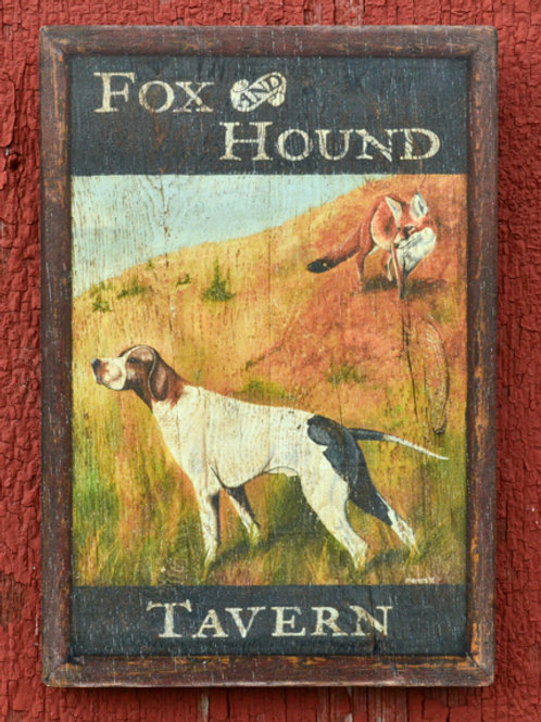 Fox & Hound Tavern Reproduction - Medium