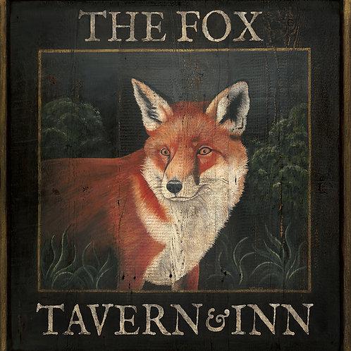 The Fox Tavern & Inn Sign
