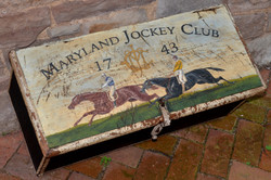 Maryland Jockey Club Tack Box