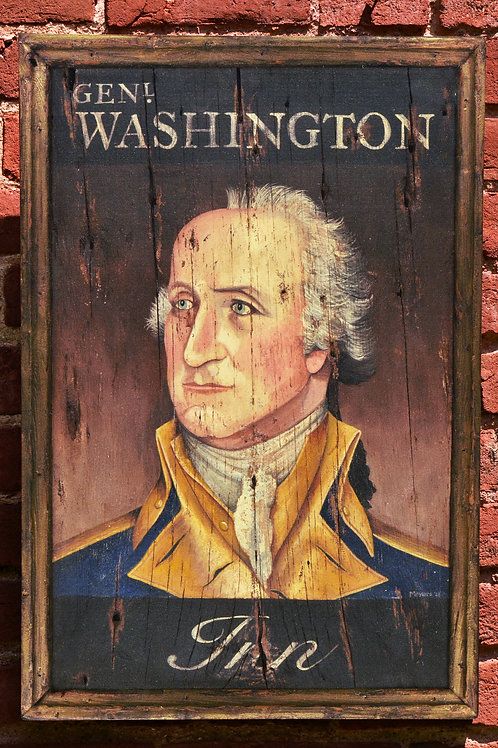 Washington Inn Sign Reproduction