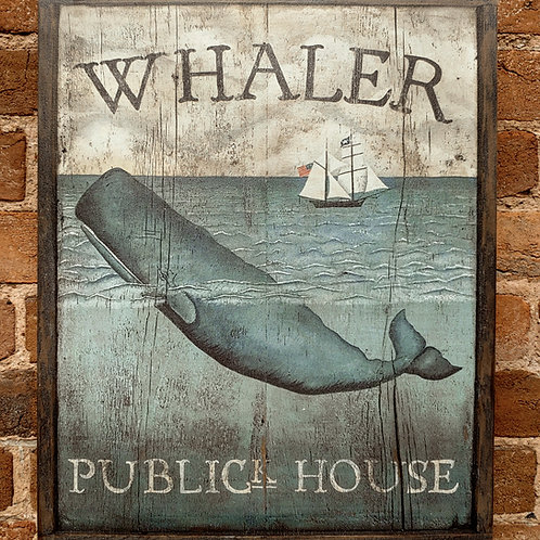 Whaler Publick House Sign