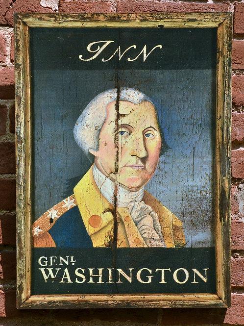 General Washington Inn Sign Reproduction