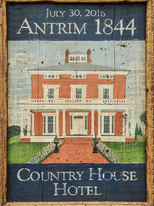 Antrim 1844 Hotel Sign - Taneytown, Maryland