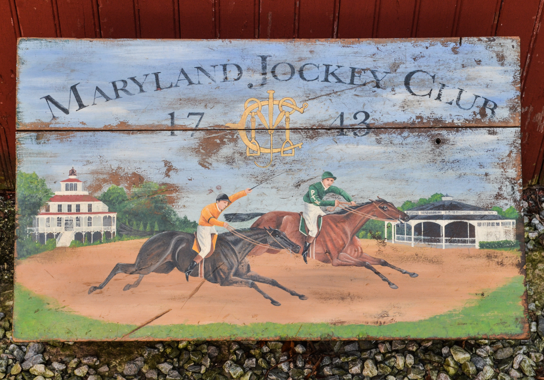 Maryland Jockey Club Box 2