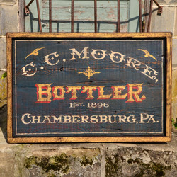 C.C. Moore Sign