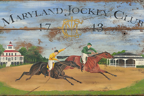 Maryland Jockey Club Reproduction