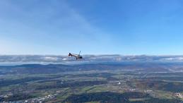 Besuch vom Swiss Helicopter