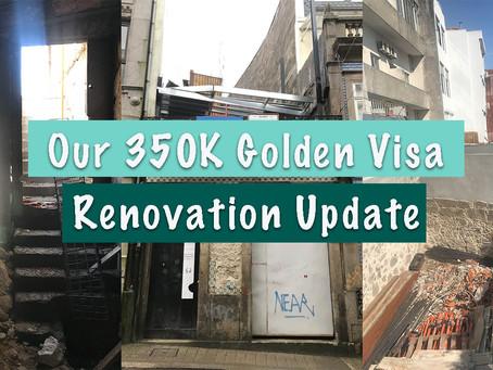 葡萄牙350K歐元黃金簽證舊樓重建系列 - Our 350K GV Renovation Updates EP1