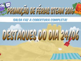 Cobertura Promoção de Férias Steam (Dia 2)