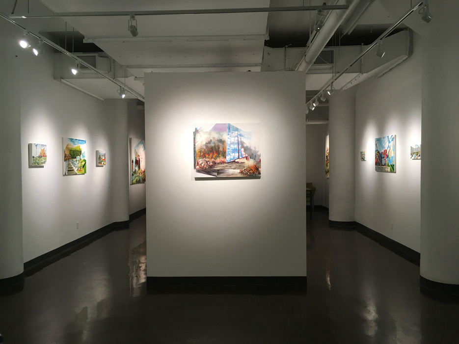 Exhibition: Urban Nature  Galerie AVE- Arts Visuels Émergents, 901 Espace B-105, rue Lenoir, Montreal, QC