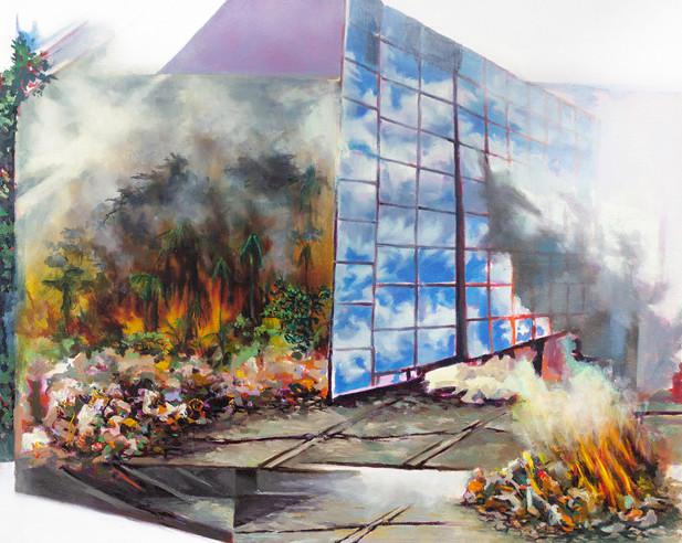 Disposal, 2020 Oil on canvas 76.2 x 60.96 cm