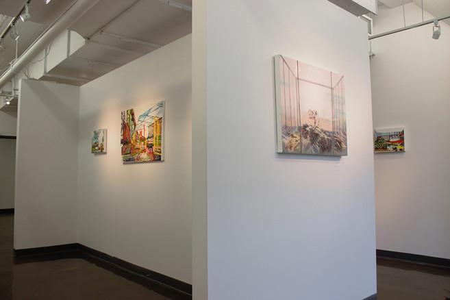 Exhibition: Urban Nature  Galerie AVE- Arts Visuels Émergents, 901 Espace B-105, rue Lenoir, Montreal, QC   Photo credit:  Benoit Solbes