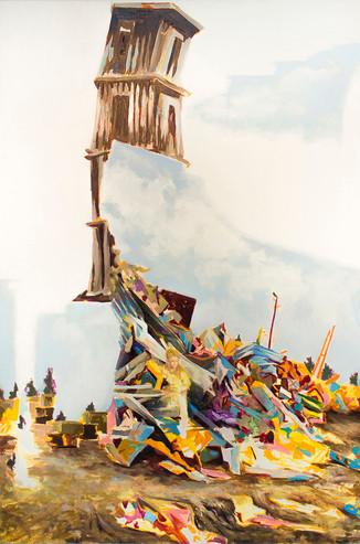 His Legacy, 2018  Oil on canvas  106.68 x 152.4 cm    Vendu/Sold